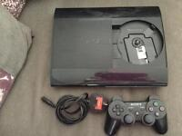 PS3 with 2 controllers
