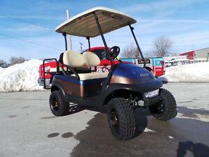 2014 club car Precedent Custom Painted Golf Cart  New Batteries!