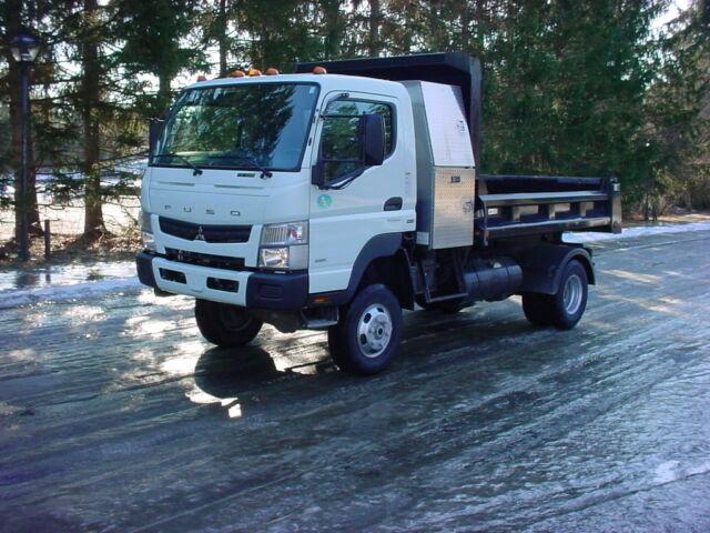 2012 Mitsubishi Fuso Fg 4x4 Rugby Dump Truck W/3 0l Turbo