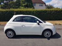 Fiat 500 1.2 Lounge (s/s) 3dr,full service history,one owner,2010 plate