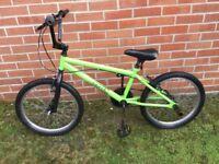 Green BMX Bike
