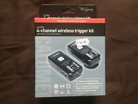 Calumet Pro Series 4 Channel Wireless Trigger Kit - Canon fit