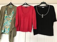 Size 20 cardigans & tops