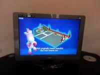 "Teac T22DVDB19 22"" LCD Television, HDMI, DVD Player"