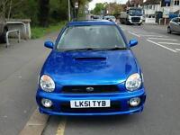 Subaru Impreza wagon wrx - Rally Blue