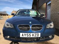 2005 BMW 535D SE. 86,000 MILES. FSH. DRIVES SUPERB, 3 MONTH WARRANTY!