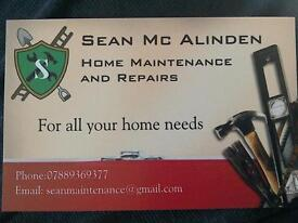 home maintenance and pairs interior and exterior