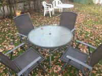 Garden Furniture set with Table