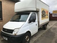 Ldv Maxus Chasi cab box Lutton van breaking parts available 2008 year