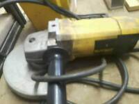 "Dewalt 9"" Grinder and 110v Transformer"