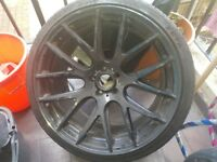 *3SDM 0.01* 20s Wheels, 5x112 Black
