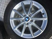 BMW ALLOY WHEELS &TYRES 205/60/16