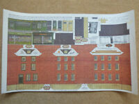 "Vintage Bilteezi ""VA"" 4mm Scale Models Series G Sheet No. 2 Houses or Shops OO Gauge Hamblings x 2"