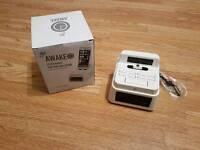 GOJI AWAKE CLOCK RADIO FOR IPOD AND IPHONE
