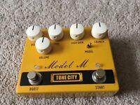 Tone City Model M Distortion Pedal