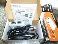 Trendnet 2-port USB keyboard switch kit with audio