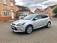 2012 FORD FOCUS ZETEC 1.6 DIESEL, FULL SERVICE HISTORY, MOT 12 MONTHS, BLUETOOTH