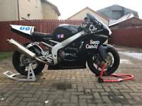 Kawasaki ZX6R pre-injection race/track bike