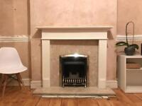 Gas fire and surround 🔥