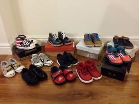 Boys Shoe Bundle Size 5/5.5 (11 pairs excellent quality)