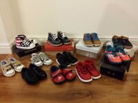 Boys Shoe Bundle Size 5/5.5 (11 pairs excellent quality)