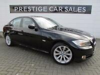 BMW 3 SERIES 2.0 318D SE 4d AUTO 141 BHP (black) 2012