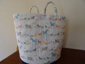 Baby storage basket