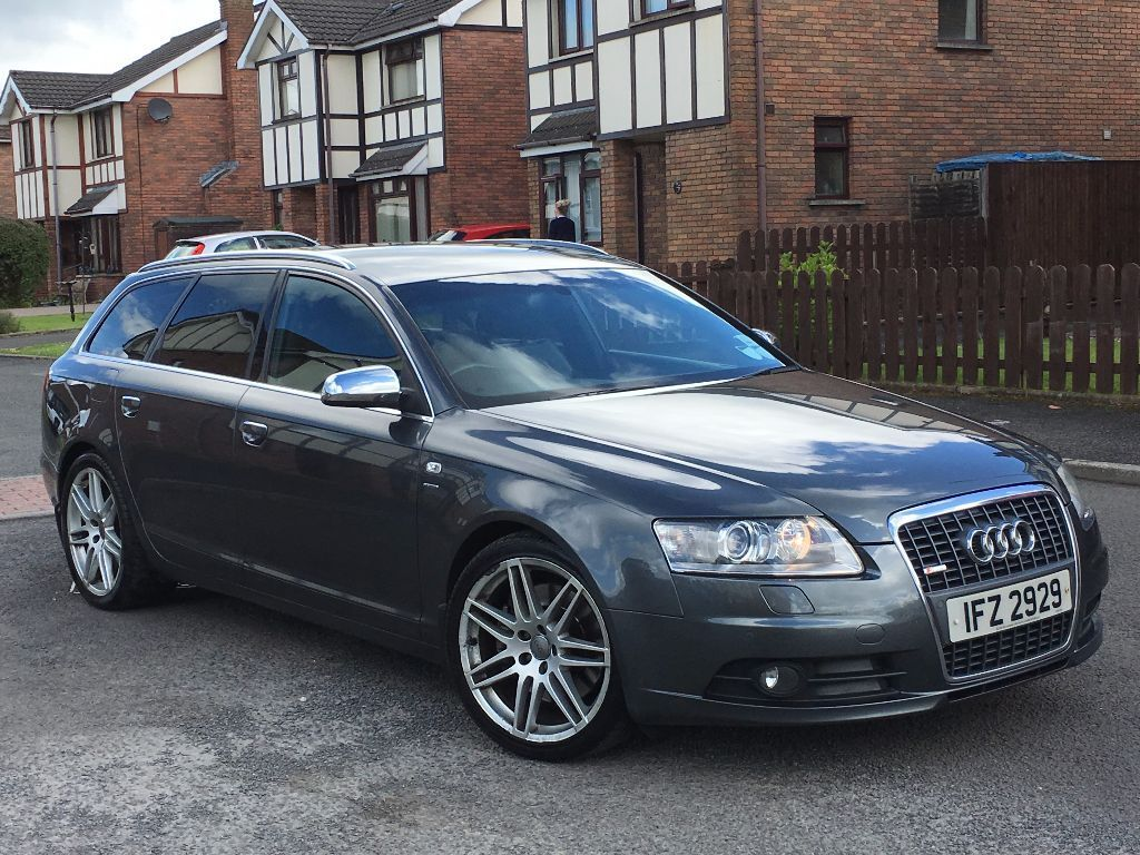 2006 audi a6 3 0 tdi quattro le mans s line avant diesel satnav leather mot 39 d oct 16 full. Black Bedroom Furniture Sets. Home Design Ideas