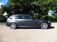 BMW 3 Series 320d M Sport 6 Speed (immaculate graphite grey metallic) 2009