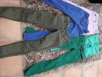 3 pairs of ladies/girls jeans. Size 8, all great condition. £2.50, Torquay.