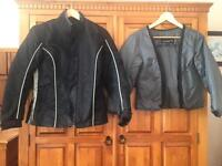 Ladies motor cycle jacket