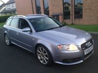 "DONT MISS OUT""AUDI A4 AVANT 3.0 TDI QUATTRO S LINE (PADDLESHIFT )233 BHP SAT NAV"