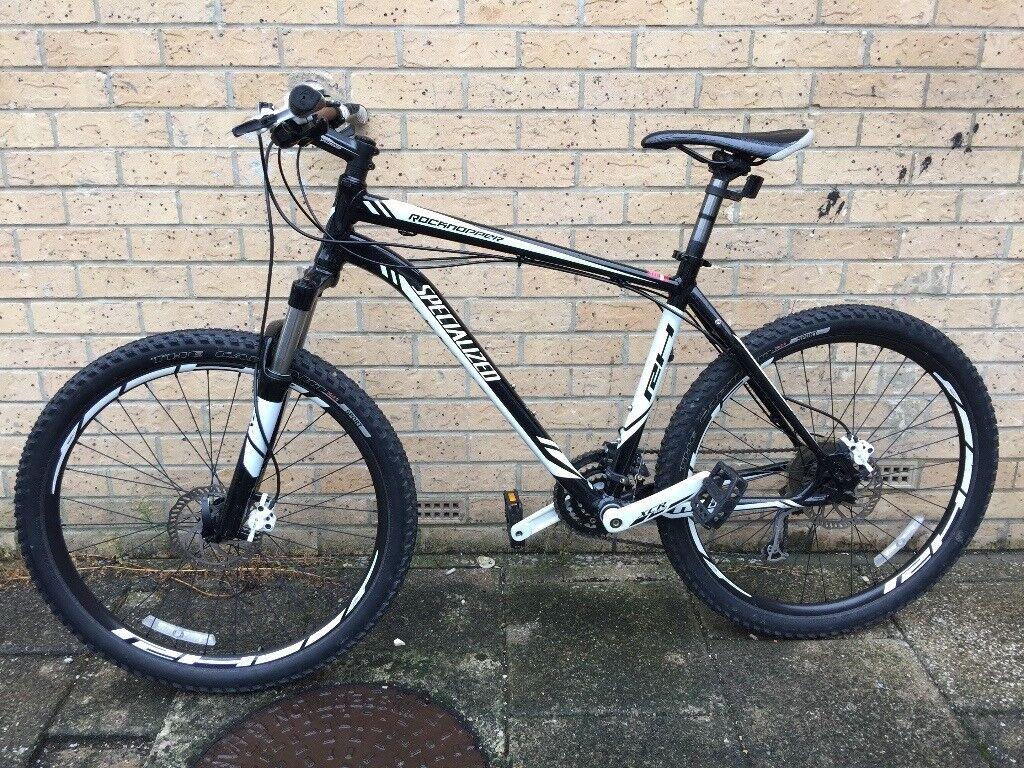 "Specialized Rockhopper M4 Hardtail Mountain Bike 19"" Large Mint Condition"