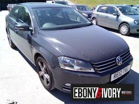 Volkswagen Passat 1.6 TDI Bluemotion Tech SE 4dr (grey) 2012