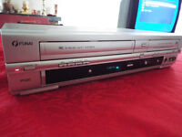 Funai DRVR-B778S DVD Recorder with Video Cassette Recorder