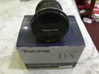 TOKINA WIDE ANGLE LENS FIT NIKON 12-24mm