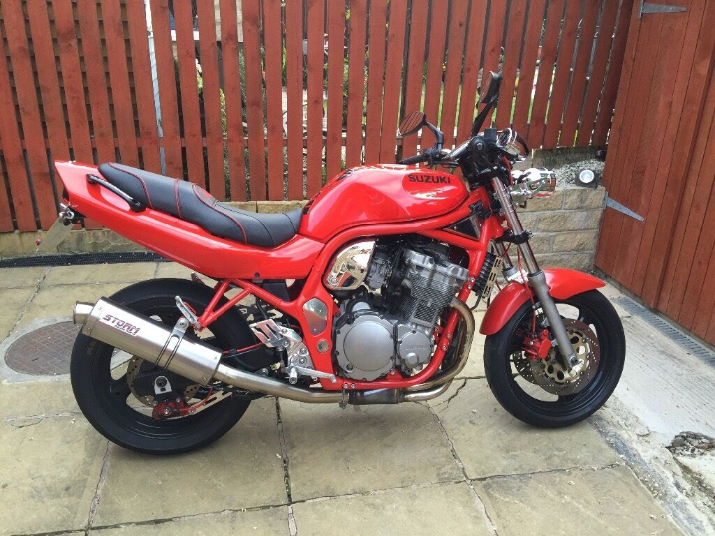 suzuki bandit 600 streetfighter red in huddersfield. Black Bedroom Furniture Sets. Home Design Ideas