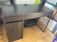 IKEA Micke desk DarkBrown/Blk