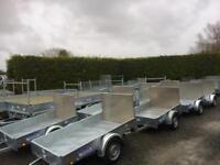 Car trailer 6x4 single axle dale kane trailer