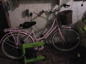 Ladies Pink Bike for sale