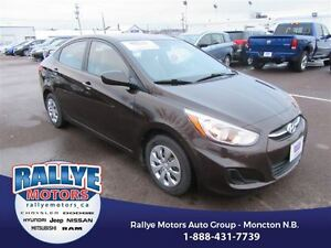 2015 Hyundai Accent GL! Heated! ONLY 41K! Trade-In! Save!