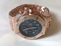 New Audemars Piguet AP Royal Oak offshore Chronograph movement Watch, Black Dial