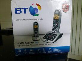 bt phone with answer machine