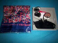 New Cacharel Ladies Gift Set - Scarf, Mirror Compact & Bag Hanger IP1