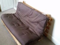 Futon sofa bed - small double