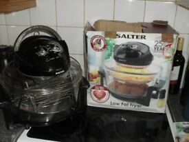 SALTER LOW FAT FRYER..NEW.