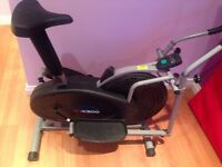 Combi Exercise Bike and Cross Trainer