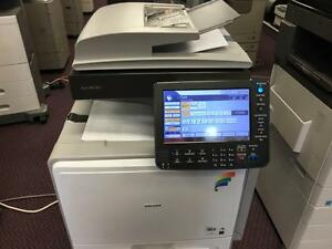 Ricoh MP C300 Color Copier Colour Photocopier Print Copy Machine - Color Copiers on SALE - BUY or RENT