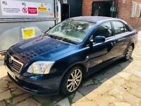 TOYOTA AVENSIS 2.0 TD 5dr DIESEL CAR WITH FULL SERVICE HISTORY. LOW PRICE. 2 KEYSURGENT SALE