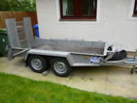 TRAILER, IFOR WILLIAMS PLANT TRAILER, 2016, AS NEW